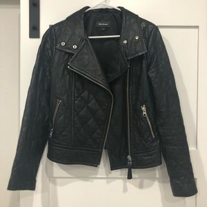 Mackage Federica Quilted Lambskin Leather Jacket